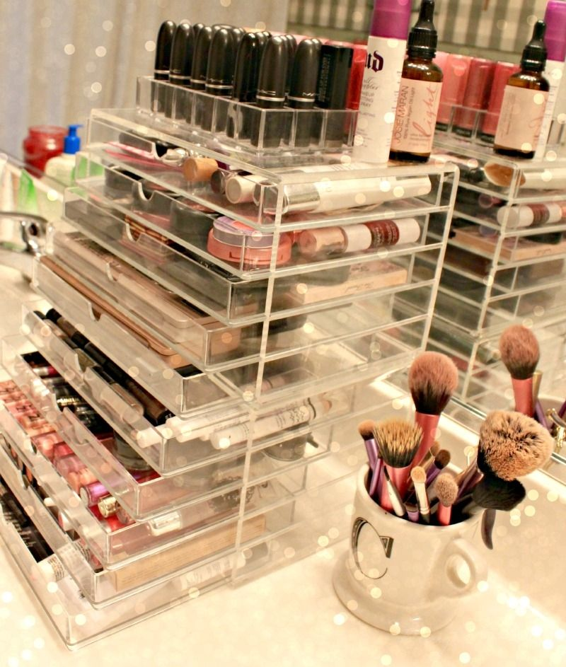 Muji Acrylic Drawers Makeup Storage Organization