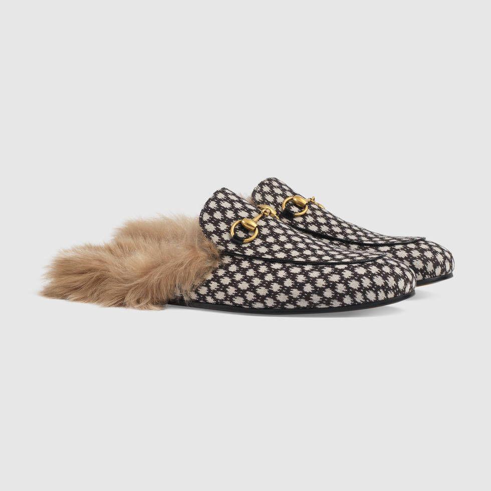9da9e079f75 Princetown dot jacquard slipper Mens Moccasins Loafers