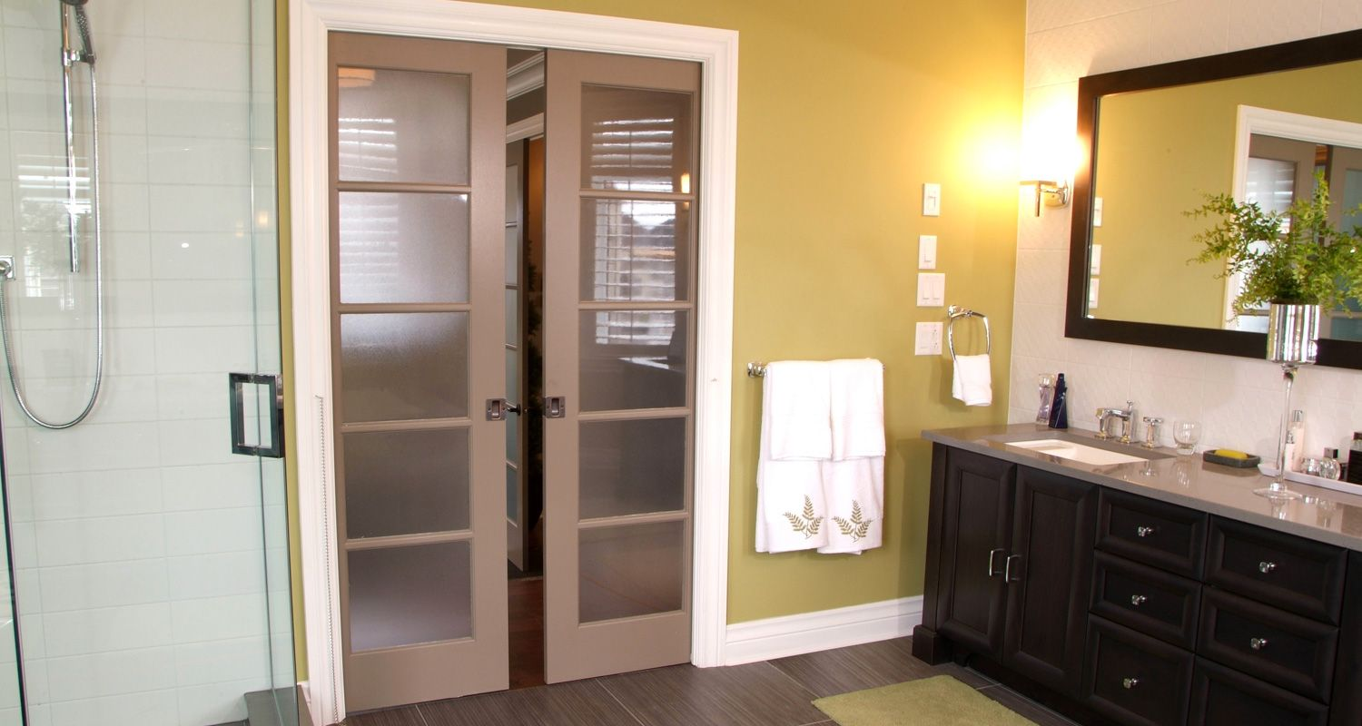 Milette Doors Can Offer You Many Different Door Styles And Ideas For Any  Room. 305 Screen Door In A Double Pocket Door Kit.