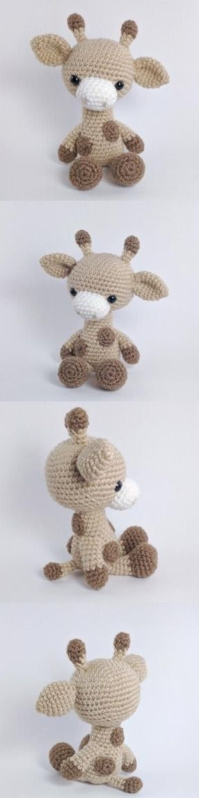 Crochet Giraffe The Cutest Ideas Ever | Patrones amigurumi, Animales ...