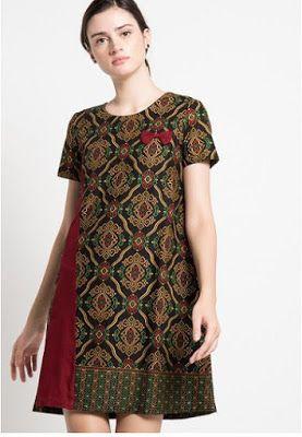 Model Baju Batik Terbaru Rochii Casual Di 2019 Wanita Model