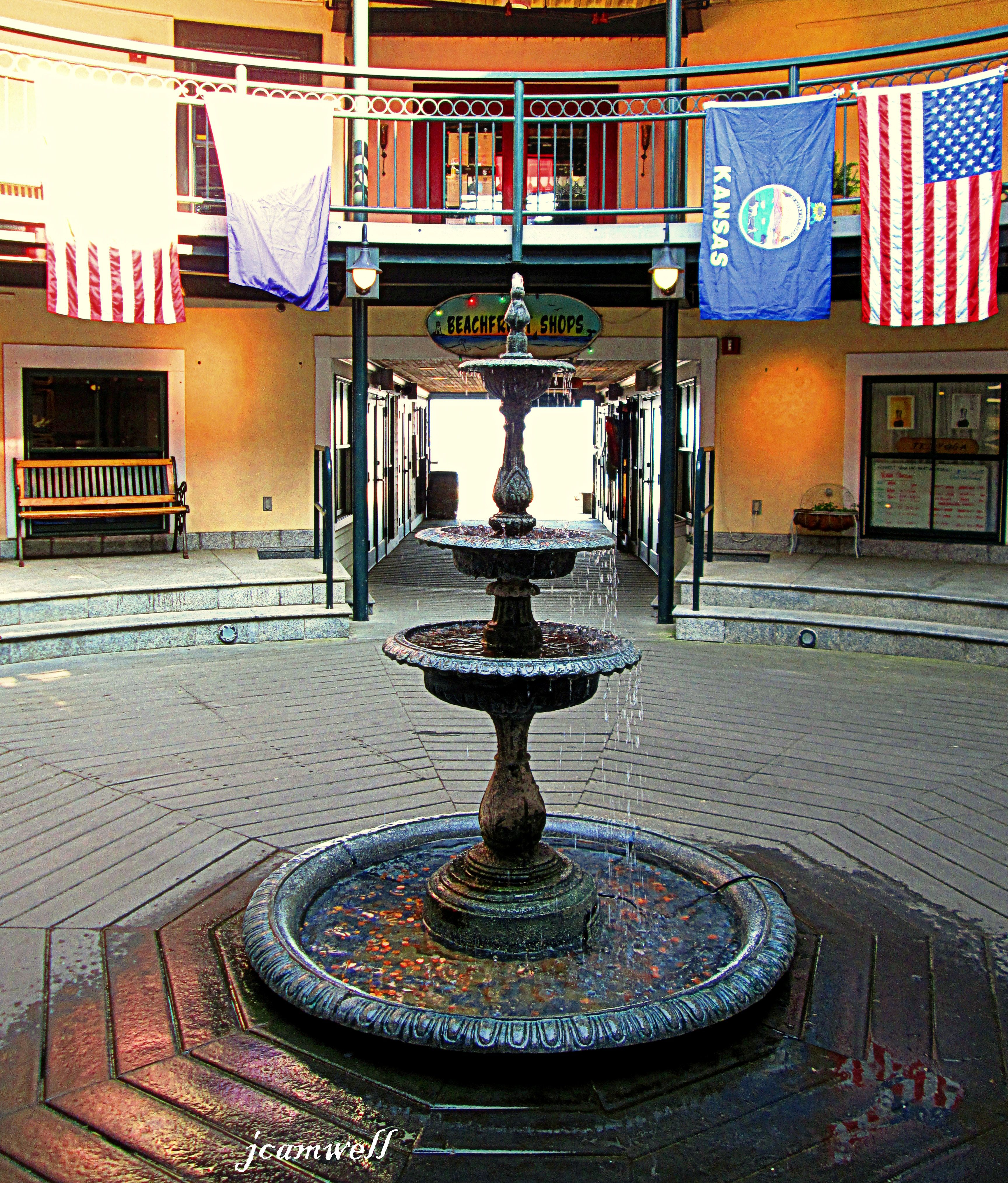 Fountain At Whaler's Wharf, Provincetown