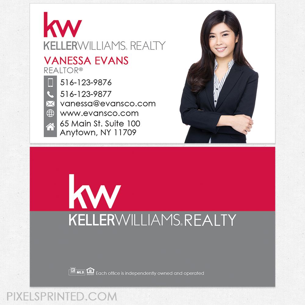 Keller williams business cards kw business cards realtor business keller williams business cards colourmoves