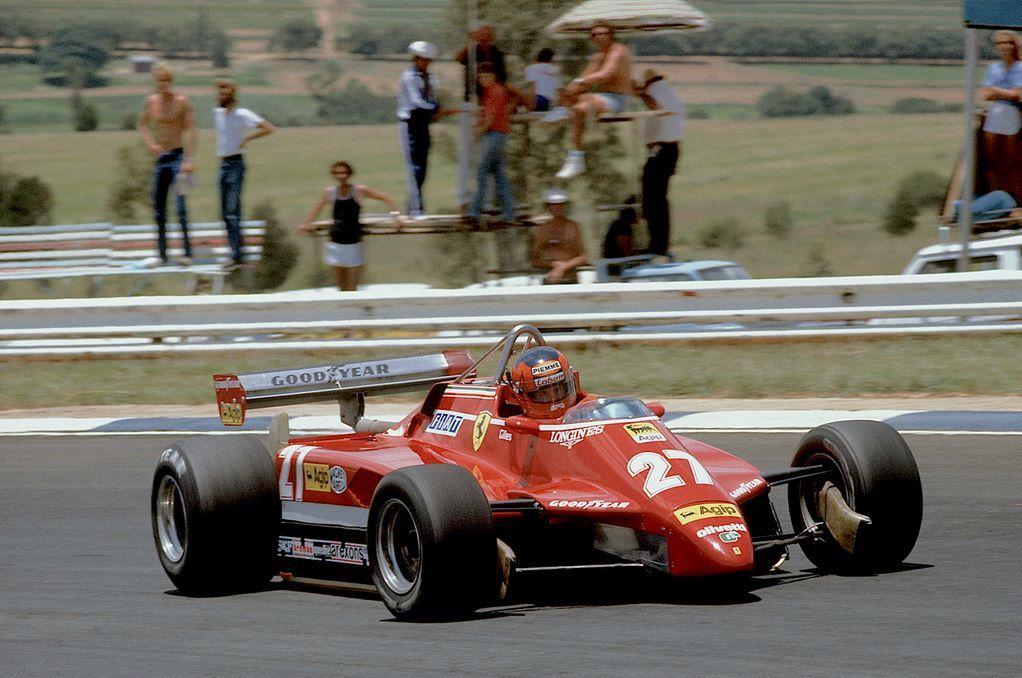 Gilles Villeneuve   Ferrari 126C2   South African Grand Prix