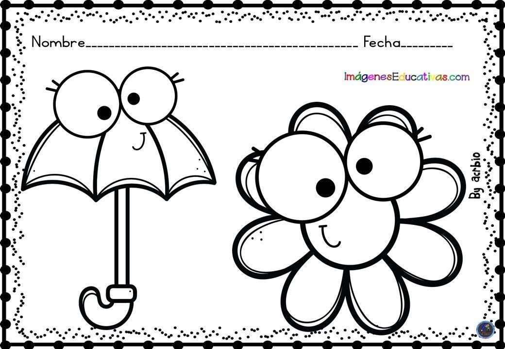 Cuaderno Colorear En Primavera 2020 2 Imagenes Para Colorear Ninos Dibujo De Munecos Dibujos Para Colorear