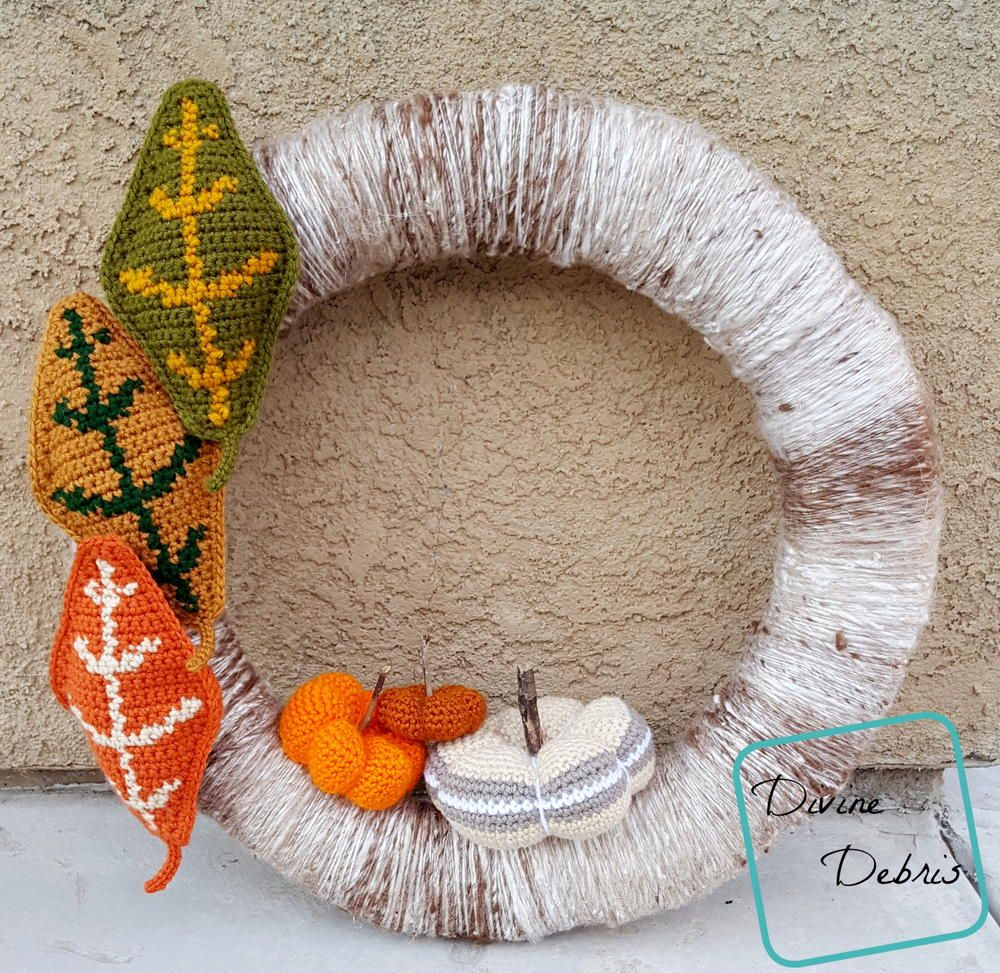 Photo of Fall DIY crochet wreath