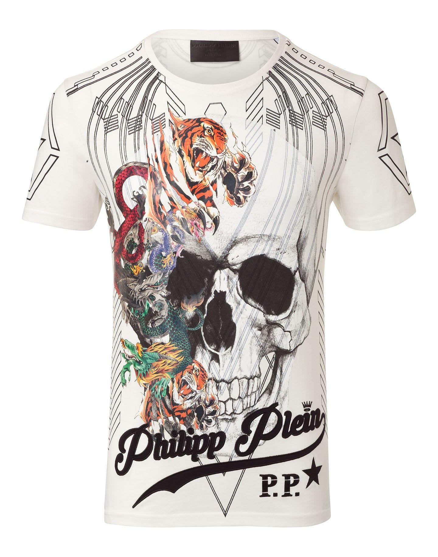 356f27a534 PHILIPP PLEIN T-Shirt Round Neck Ss