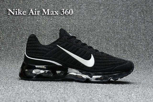 Nike Air Max 360 Women s shoes Black White  4da8d1d0cde6