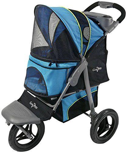 Gen7Pets G7 Jogger Pet Stroller, Trailblazer Blue -- Click image for more details.
