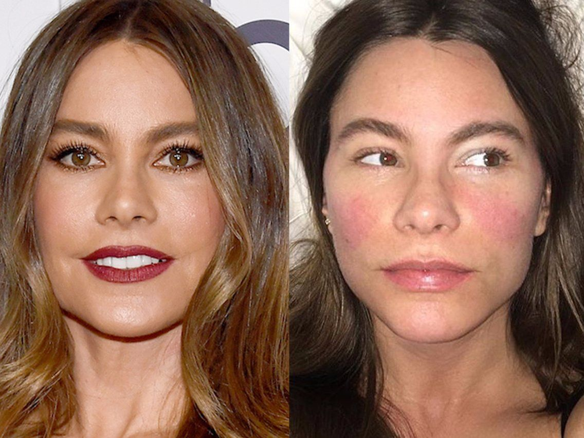 What 48 actresses look like without makeup Celebs