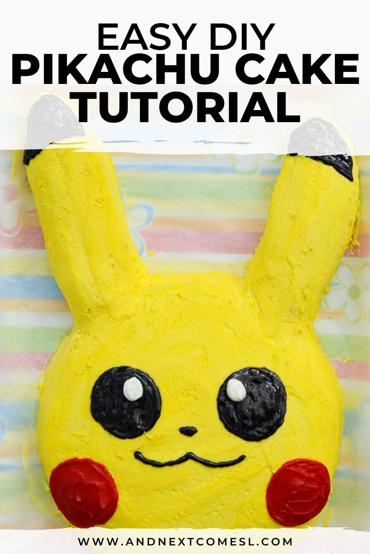 Easy DIY Pikachu Cake Tutorial Did the kids request a Pikachu birthday cake Then youll definitely want to try this super easy DIY Pikachu cake tutorial