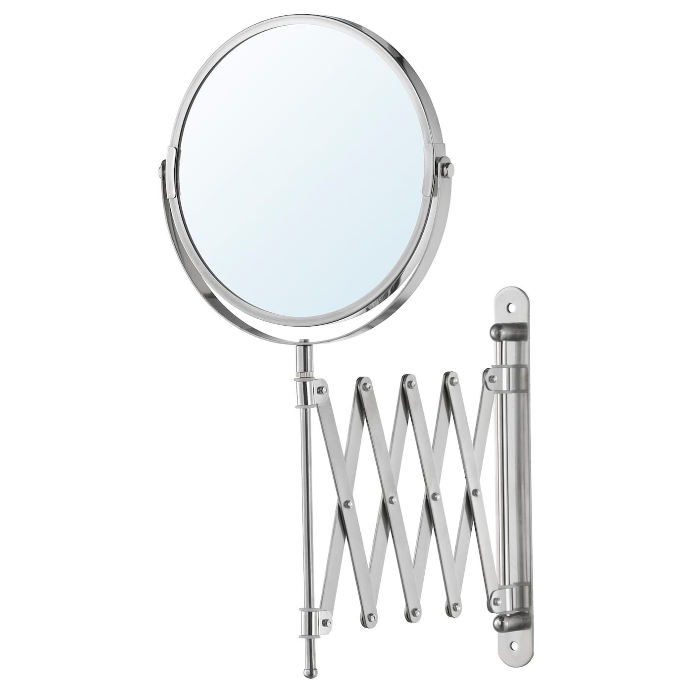 Frack Mirror Stainless Steel Magnifying Mirror Mirror Large