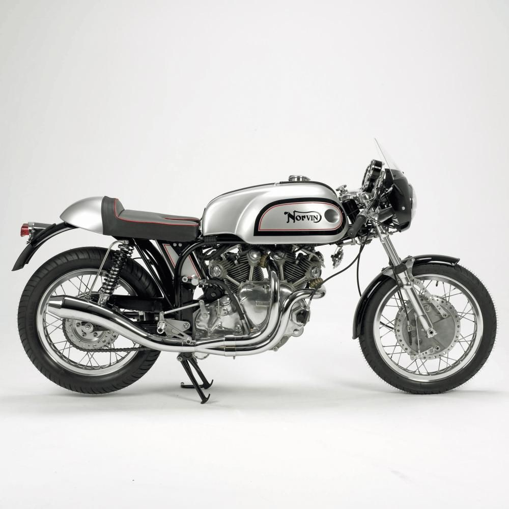 Norvin Café Racer. A Vincent Engine Mounted into a Norton Frame ...