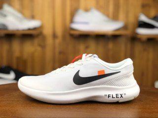 8f48818bfec03 Nike Flex Experience RN 7 White Black AJ9089 100 Mens Womens Casual Sneakers