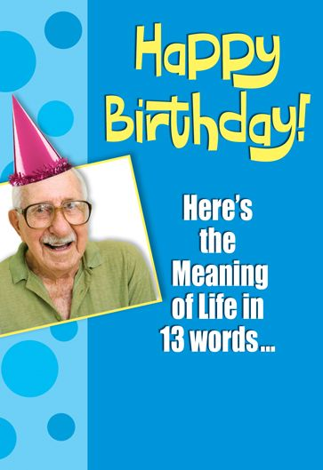 Smart alex cards 6249 inside every older person is a young everyone looks forward to funny and edgy birthday cards from smart alex m4hsunfo Images