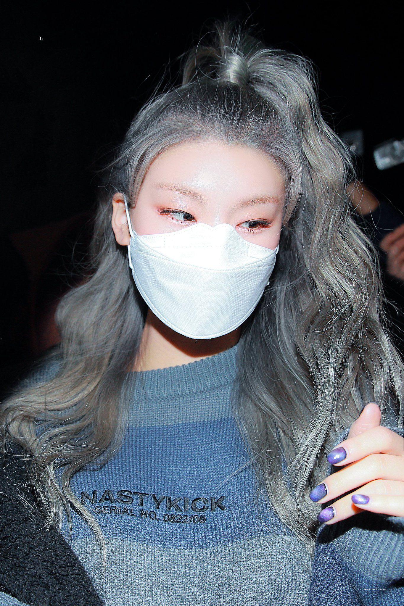 Lu On Twitter Itzy Kpop Girls Her Hair