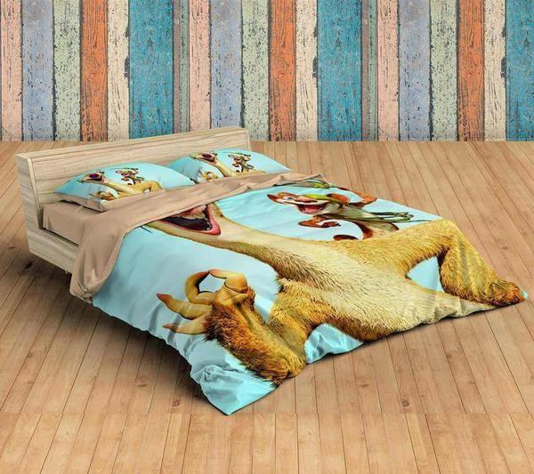 Customize Ice Age Bedding Set Duvet Cover Bedroom Bedlinen