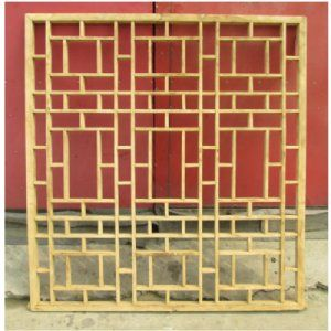 Asian Wall Decor antique asian chinese carved wooden wall hanging art window screen