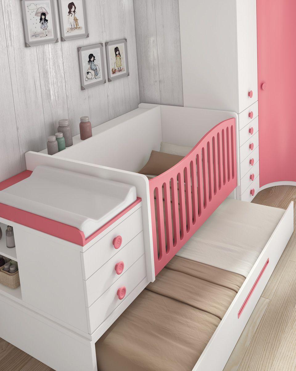 Lovely | chambre | Pinterest | Cuna convertible, Camas nido y ...
