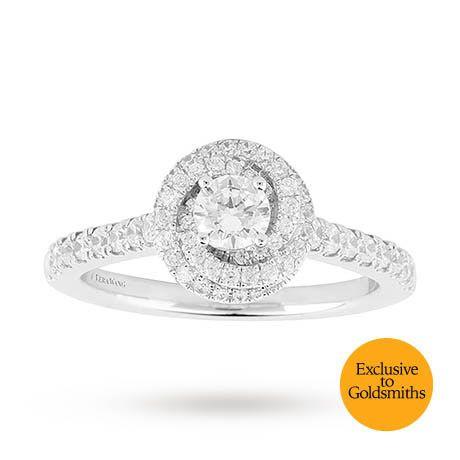 Vera Wang Love Brilliant Cut 0 70 Total Carat Weight Diamond Swirl