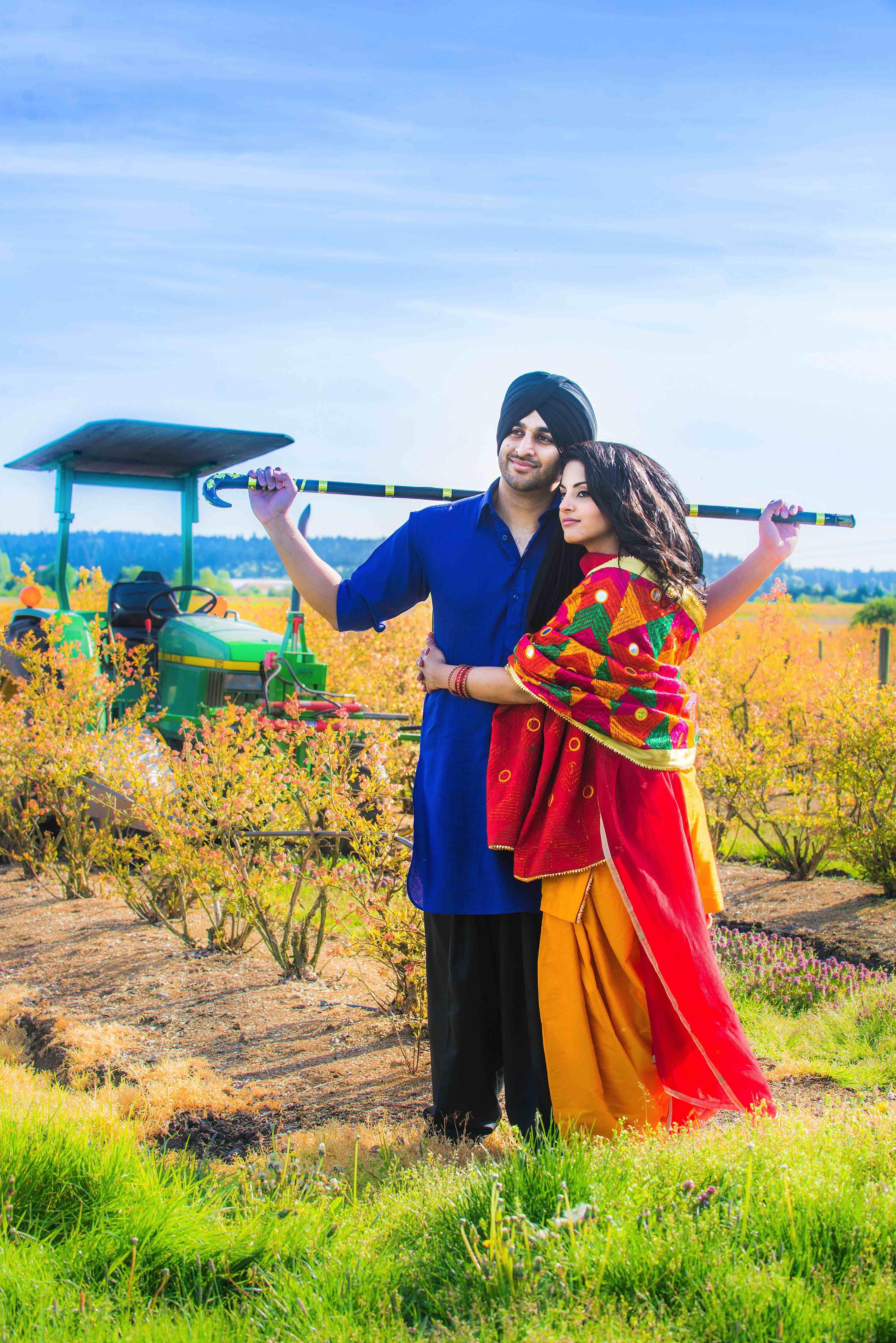 Pin by Kuldeep Gill on Punjabi Couple Culture 2017 in 2019 ...
