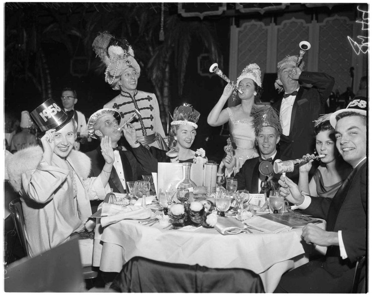 22 Photos Of OldTimey Angelenos Celebrating The New Year