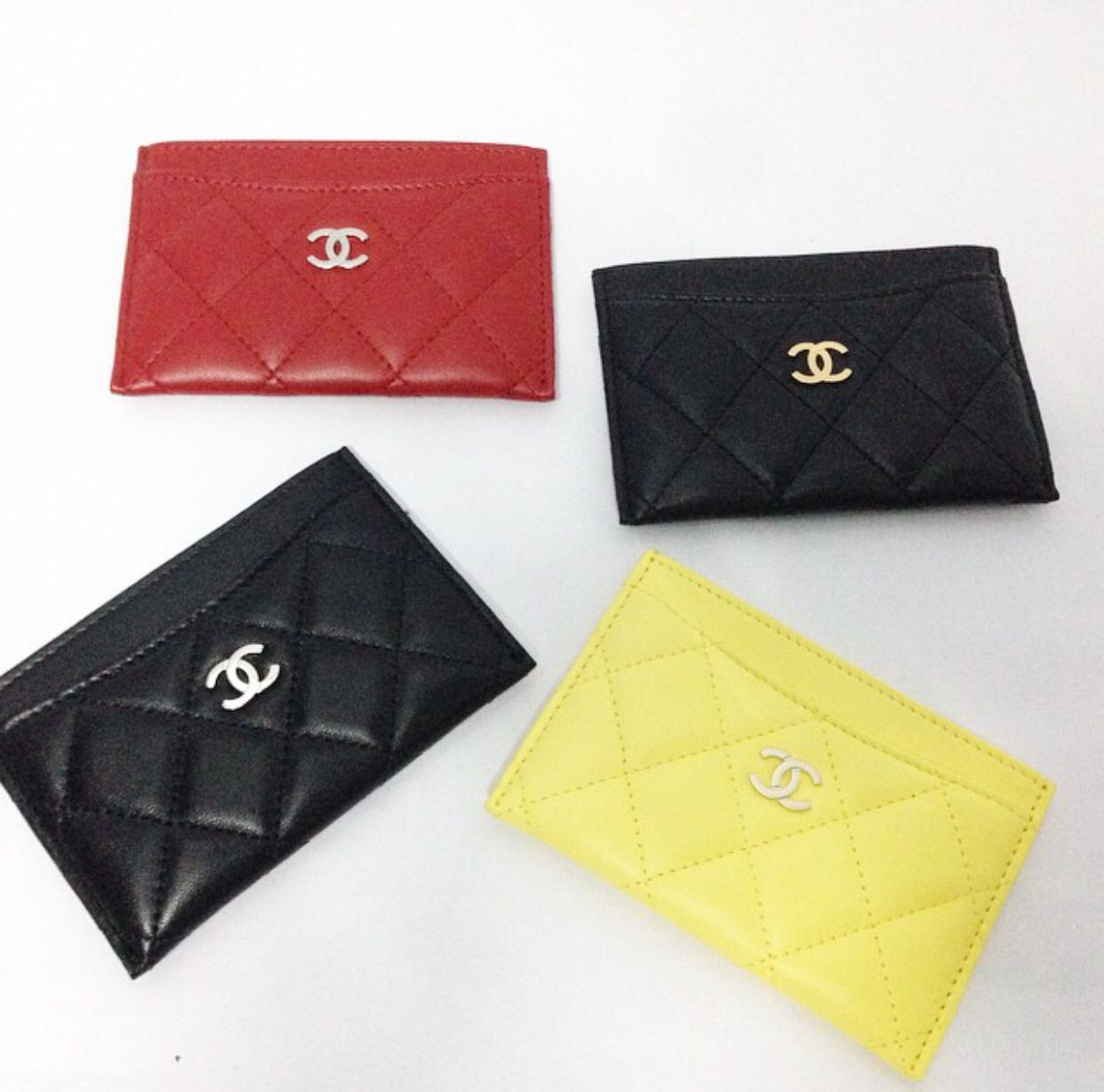 94e824b10365 Chanel card holder | Small Leather Goods ❤ | Chanel card holder ...