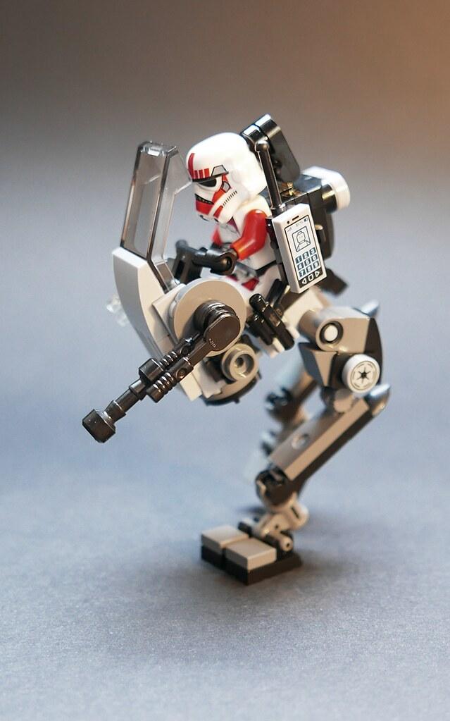 Another walker mech LEGO MOC | A SW-themed walker (very loos… | Flickr