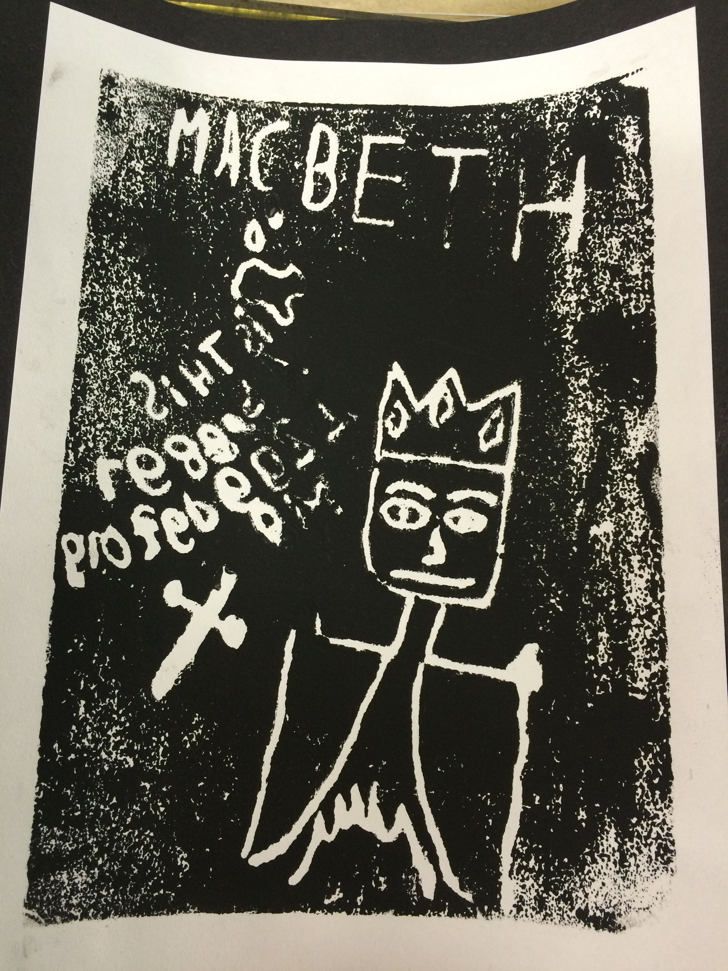 Poster design ks2 - Year 6 Macbeth Poster Design Whxp
