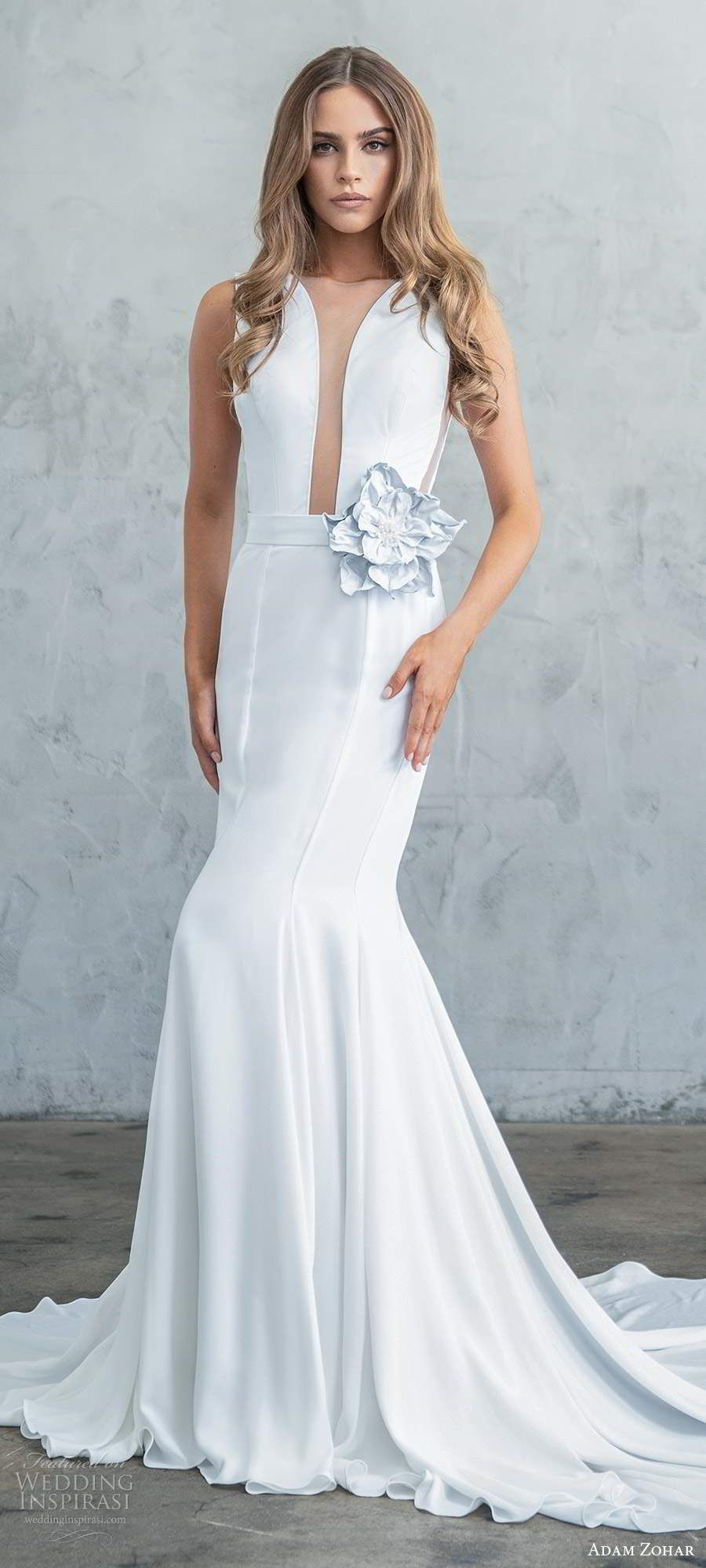 "Adam Zohar Fall 2020 Wedding Dresses — ""Kai"" Bridal"