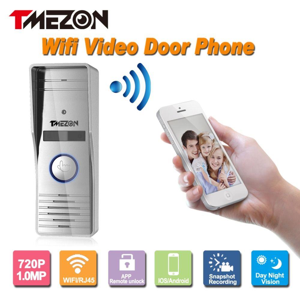 Tmezon hd 720p 10mp phone control wireless wifi smart video door tmezon hd 720p 10mp phone control wireless wifi smart video door phone intercom outdoor camera rubansaba