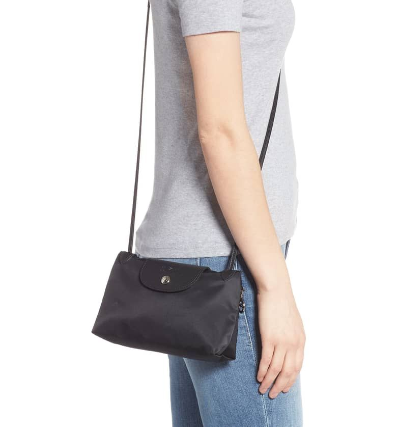 Le Pliage Neo Crossbody Bag Alternate Color Black Best Crossbody Bags Crossbody Bag Longchamp Le Pliage