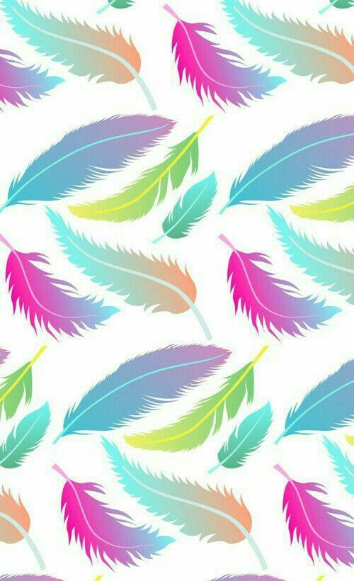 Plumas colores   wallpapers   Pinterest   Wallpaper, Art pieces and ...