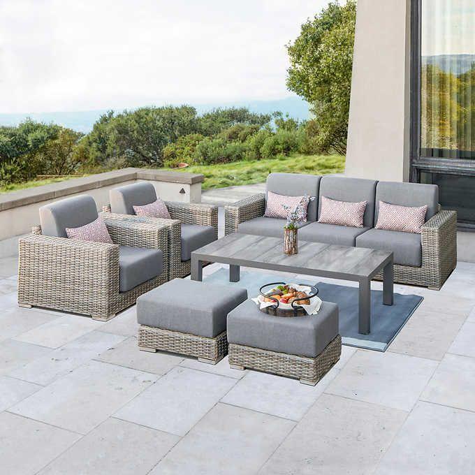 Eden 6-piece Deep Seating Set   Cheap outdoor furniture ...