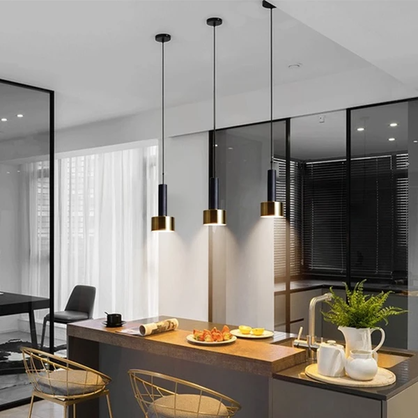 Stirling modern pendant lights | Put a spotlight on the spaces that matter most with the Stirling Pendant Light. Featuring a modern design, these pendant lights come with hanging wires. Perfect for adding a touch of subtle elegance to your home kitchen. Collect this awesome pendant light. #StirlingPendantLight #PendantLamp #PendantLight #Lamp #Pendant #GuccioHome