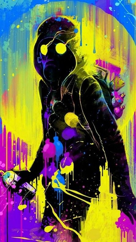 Supermega Imagen | Animes | Pinterest | Wallpaper, Graffiti And Cyberpunk