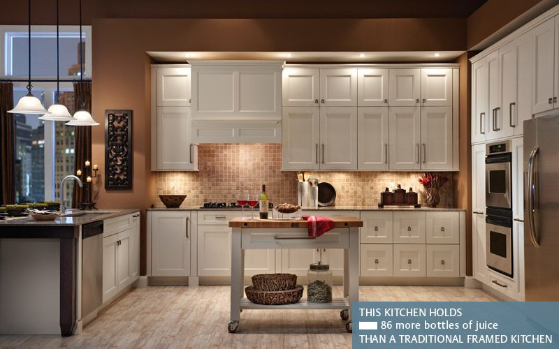 Merveilleux Design Craft Transitional Kitchen: Design Craft Cabinetry Is Great For The  Small Kitchen