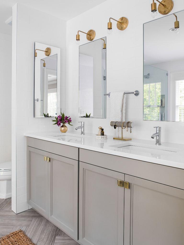 Kleine Badezimmer Ideen Die Sie Geld Sparen Konnen Badezimmer Innenausstattung Badezimmer Badezimmer Grau