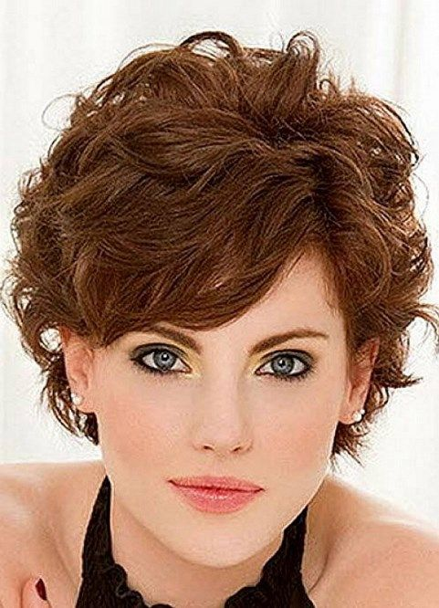 Short Hairstyles Short Hairstyles For Thick Wavy Hair Women Thick Wavy Hair Over 50 Hairs Short Curly Hairstyles For Women Fine Curly Hair Short Hair Styles