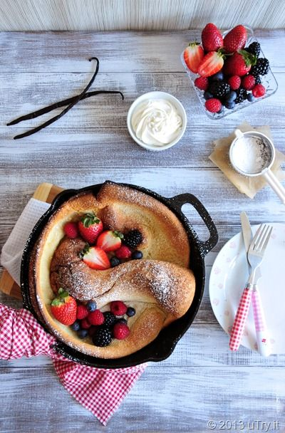 Vanilla Bean Dutch Baby