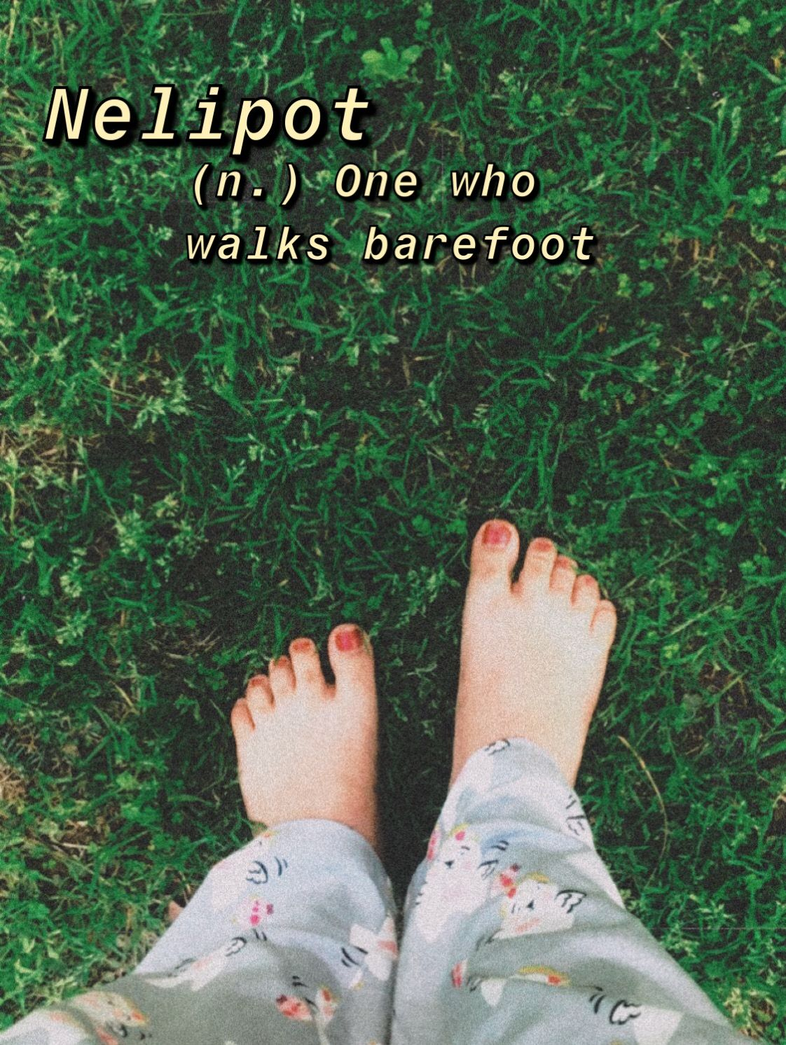 Barefoot on grass in 2020 instagram story ideas