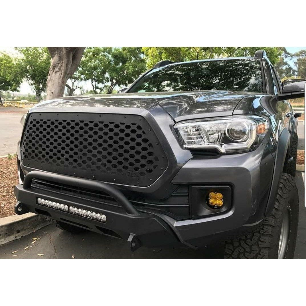 2016 2020 Toyota Tacoma Grille Insert Honeycomb 16tacv420 Toyota Tacoma Custom Toyota Tacoma Grille Inserts