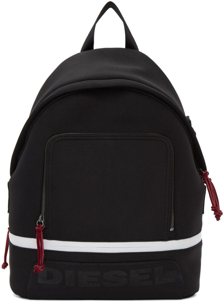 4d80a21b388dae Diesel - Black F-Scuba Backpack Diesel Bags, Fashion Backpack, Men's  Accessories,