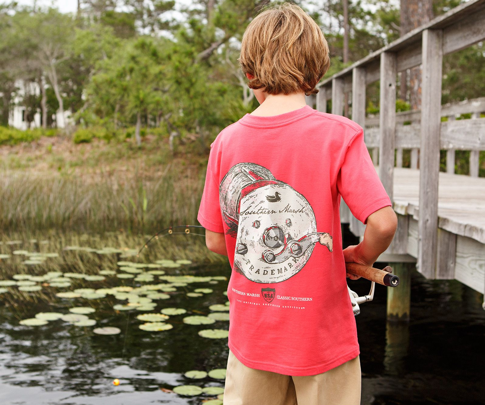 Southern Marsh Southern Class Fishing Reel Tee
