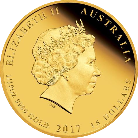 Country Australia Year 2017 Purity 99 99 Gold Finish Proof Weight 1oz 31 112g 1 4oz 7 777g 1 10oz 3 111g Diameter Gold Coins Coins Proof Coins