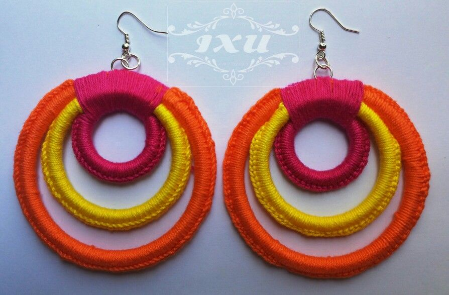Mexican Earrings|Aretes Mexicanos www.mexicanlabel.com
