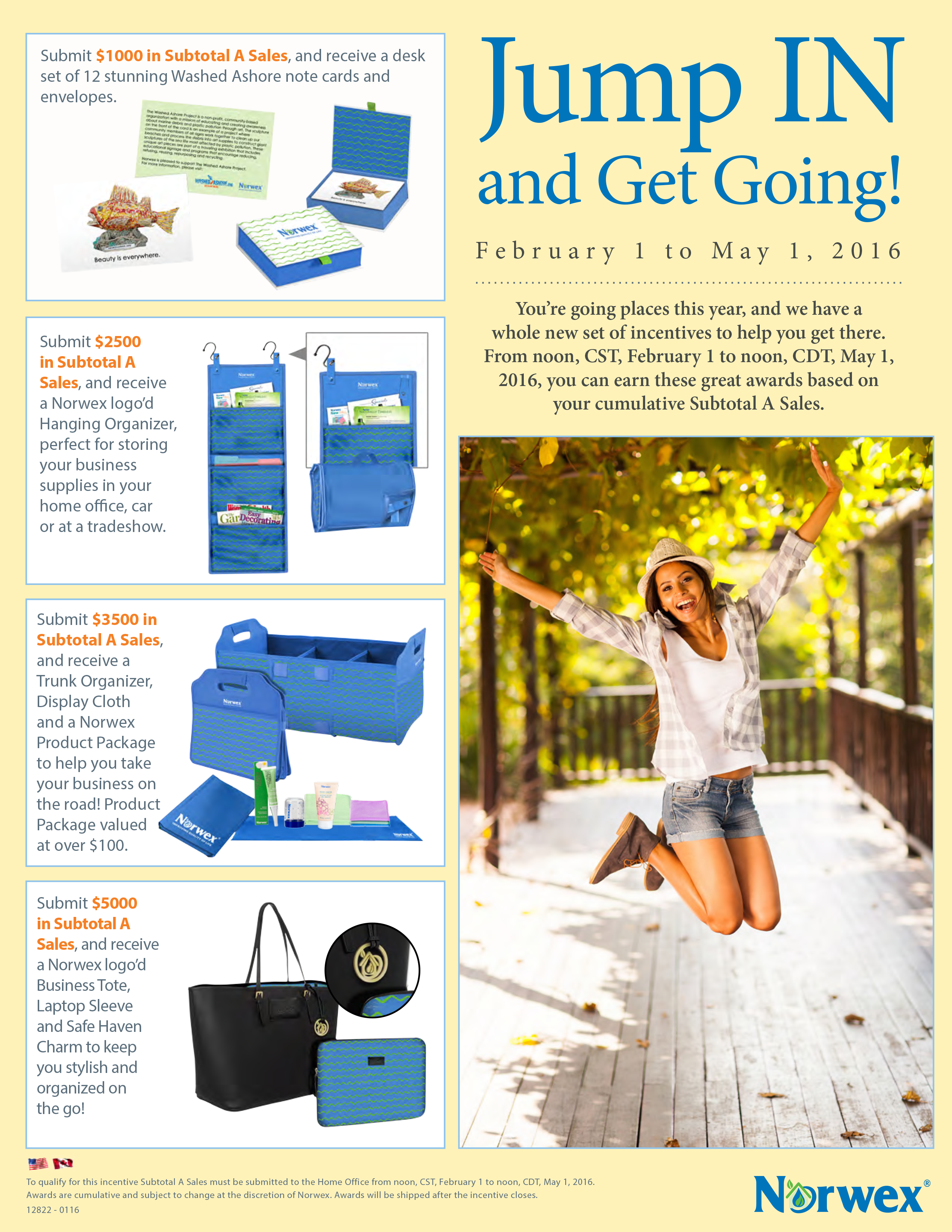 Norwex Usa And Canada Jump In And Get Going Flyer Norwex Norwex Consultant New Set