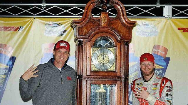 Dales win clock