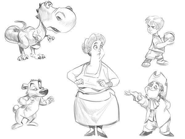 Cómo Aprender A Dibujar Dibujos Animados Paso A Paso: Aprender A Dibujar Dibujos Animados Paso 003