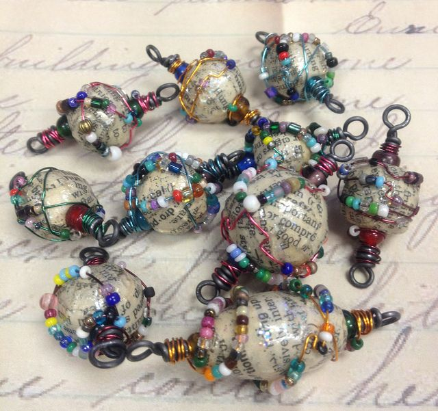 dictionary beads | Flickr - Photo Sharing!